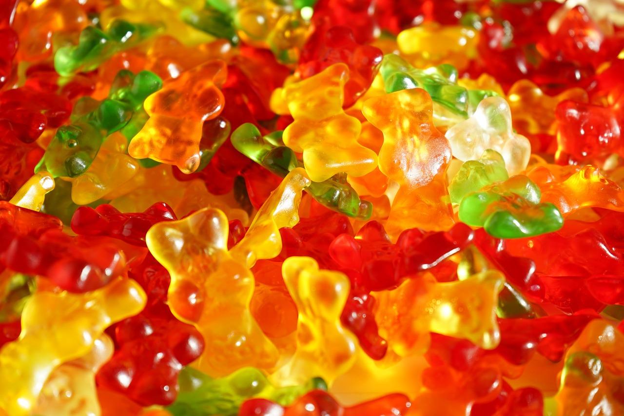 Gummibärchen: Die meisten Produkte sind mit Gelatine gemacht.  Quelle: www.pixabay.de