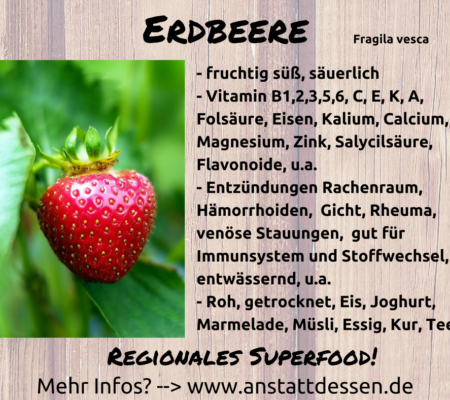 Regionales Superfood Erdbeere