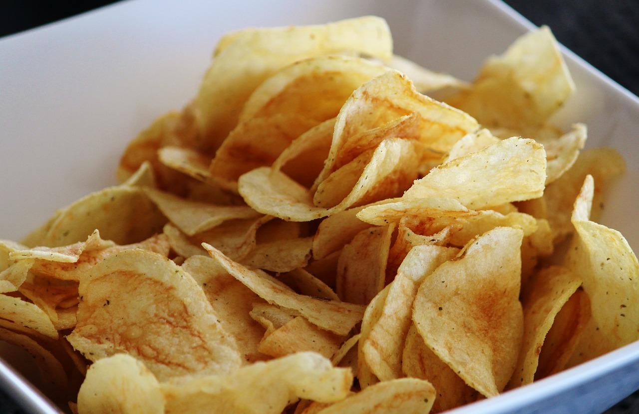 STATT Käse Überbacken mit Chips