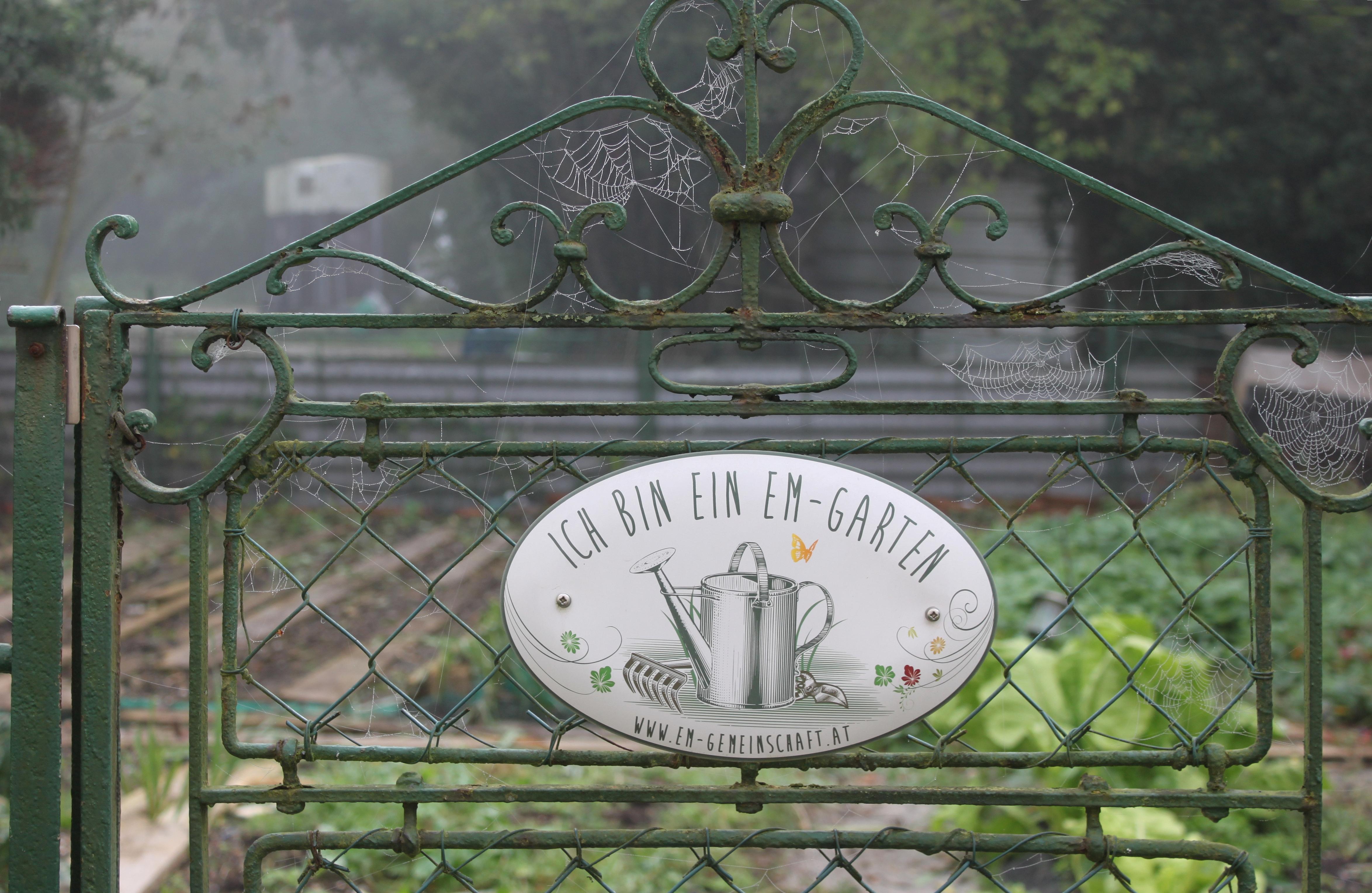 EMs im Garten - anstattdessen